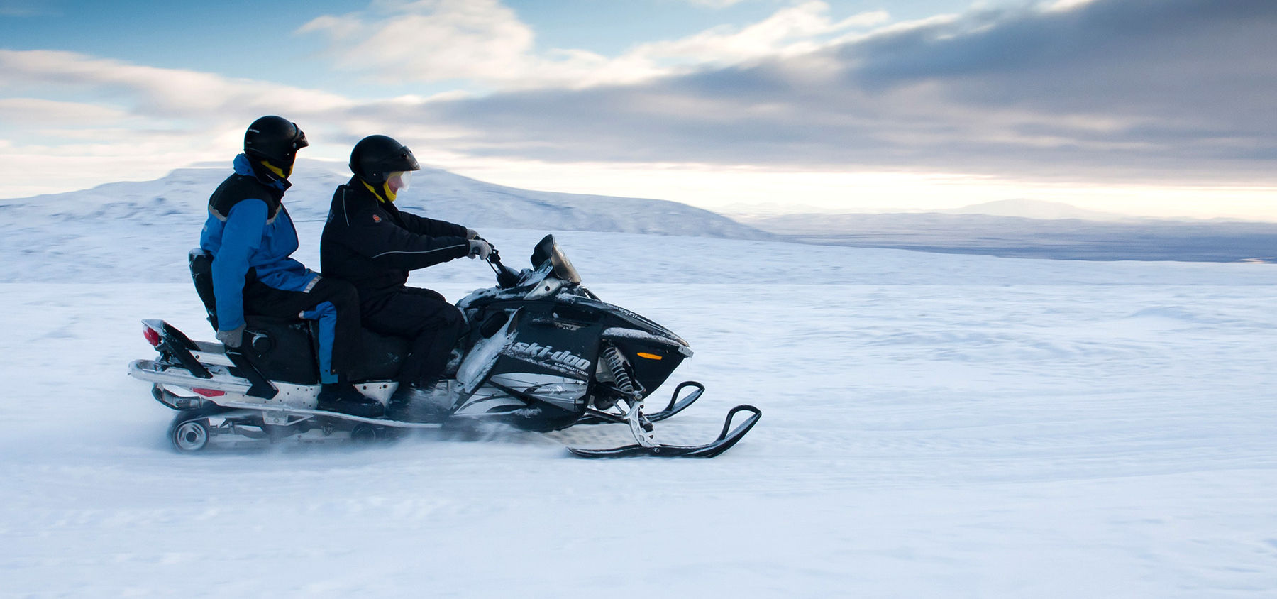 snowmobiling Iceland